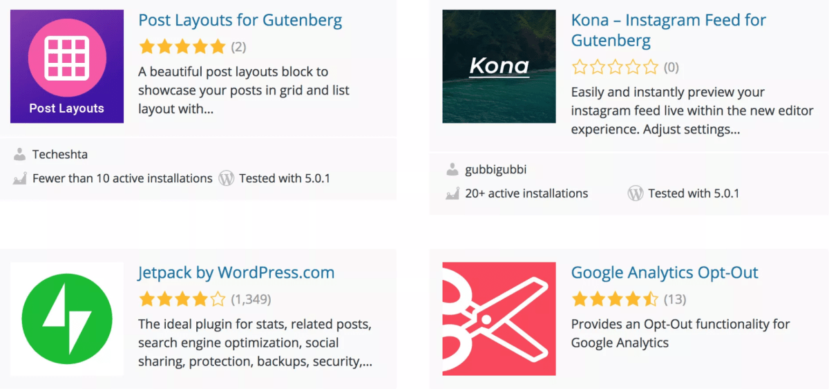WordPress Plugin Directory Now Features a Curated Section for Block-Enabled Plugins